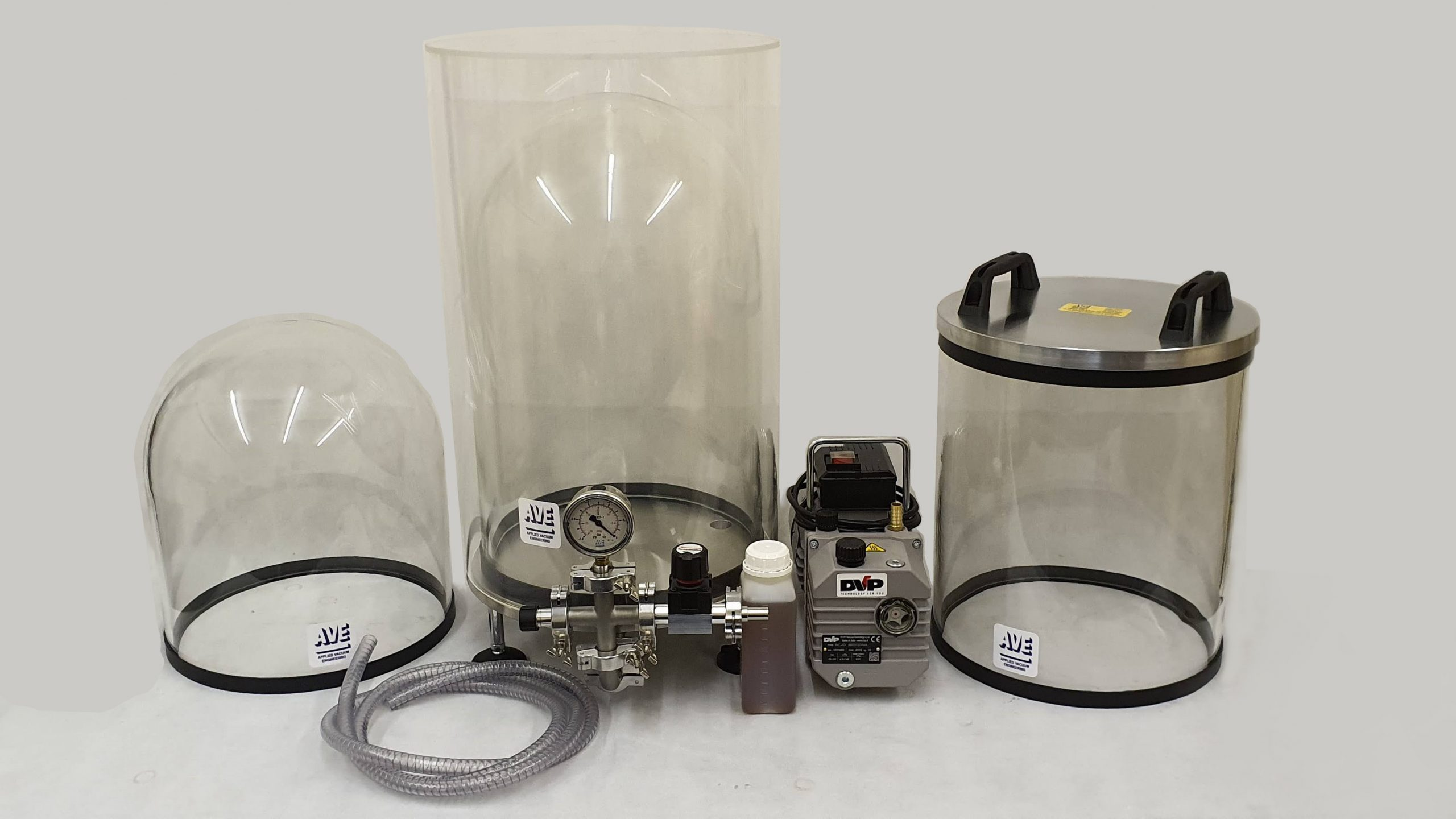 belljars and cylinders
