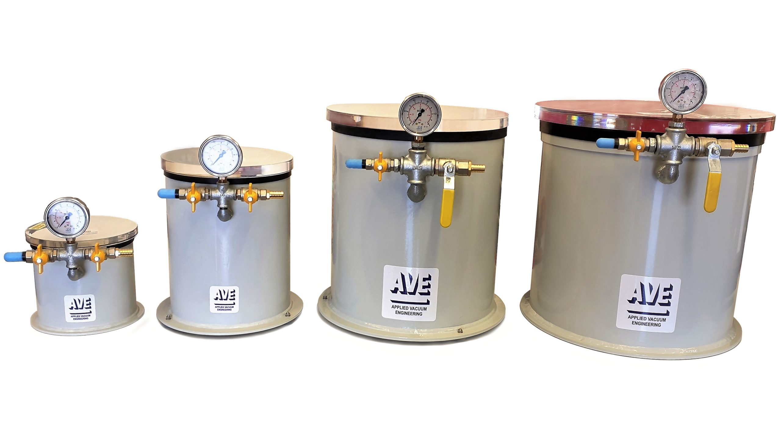 Vacuum degassing chambers