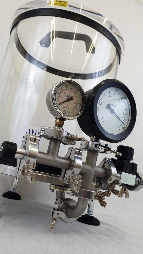 100mm vacuum gauge