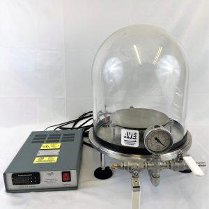 heated bell jar system
